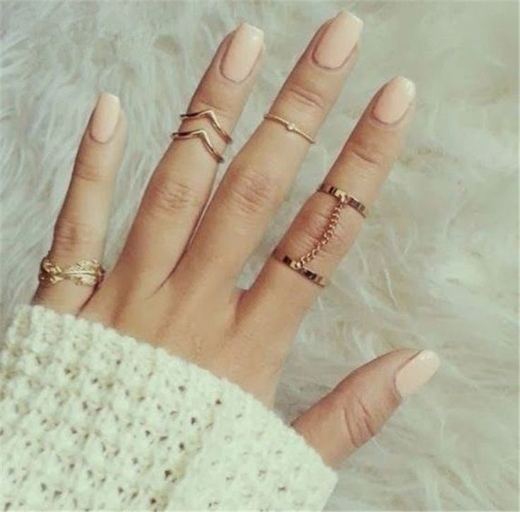 6pcs /lot Shiny Punk style Gold plated Stacking midi Finger Knuckle rings //Price: $6.99 & FREE Shipping //     #hashtag4