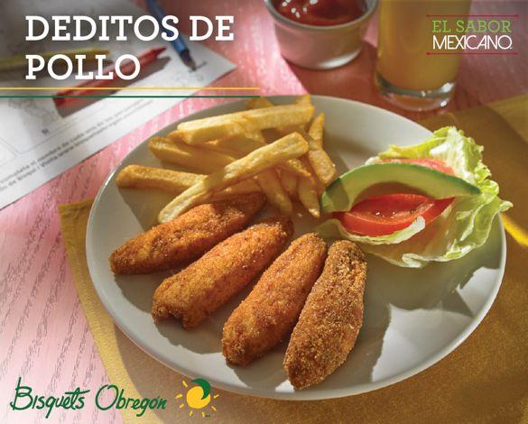 #Pollo #Sabor #MenúInfantil