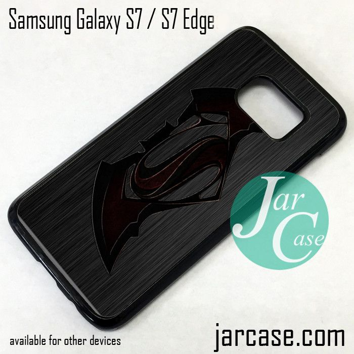 Superman Vs Batman Phone Case for Samsung Galaxy S7 & S7 Edge