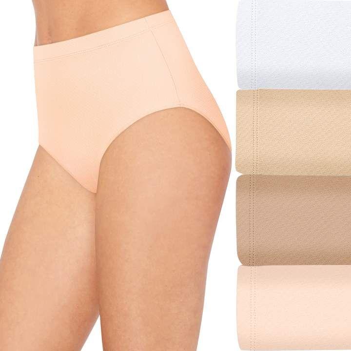 8169f108ba52 Hanes Women's 4 1 Bonus Pack Ultimate Breathable Comfort Ultra Light Briefs  40ULBB #Pack#Ultimate#Breathable