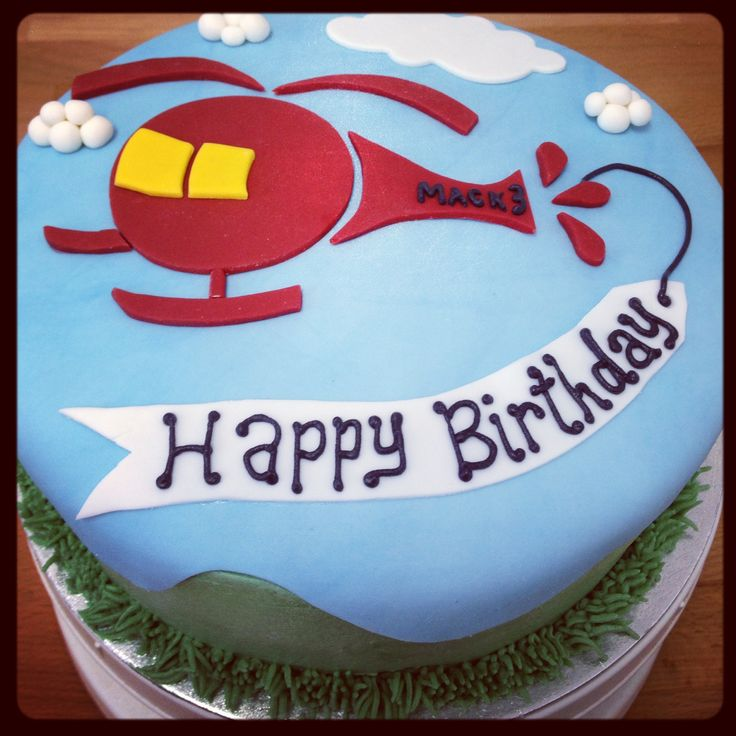 Helicopter Cake. For L.