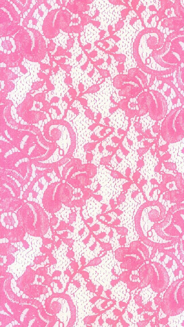 This Background Is For All The Lace Loving Girly Girls Out There Because Pink Iphone WallpaperCellphone WallpaperMobile