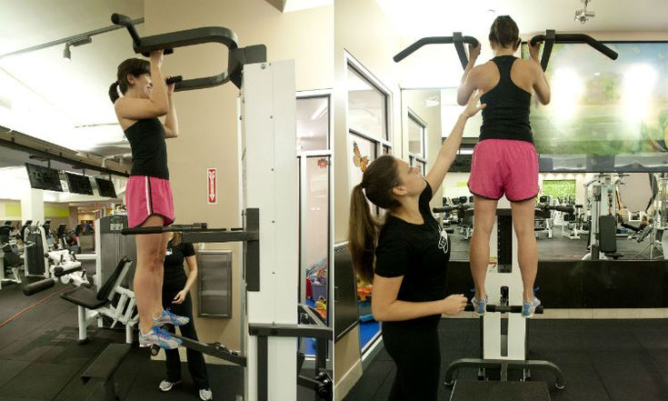 Fix Your Form: How To Use The Assisted Pull-Up Machine