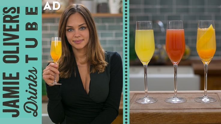 The Buck's Fizz and Mimosa are similar orange juice-based cocktails topped with sparkling wine - often consumed at brunch. Here Danielle will show you three ...