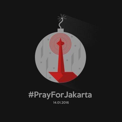 Pray for Jakarta : Pray for Indonesia #prayforjakarta