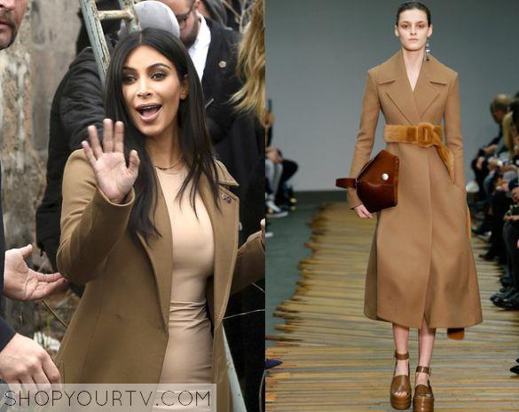 KUWTK: Season 10 Episode 14 Kim's Brown Coat