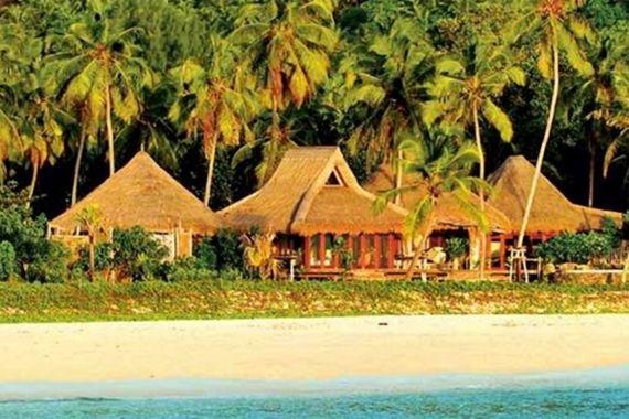 Habitações na Ilha de Madagascar, no Oceano Índico.  Fotografia: http://vocerealmentesabia.tumblr.com
