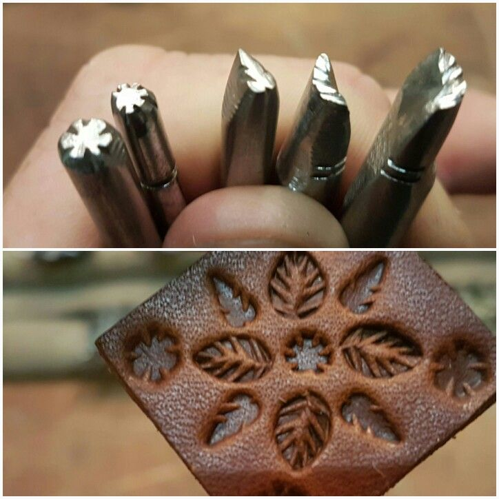 Some fun little home made stamping tools