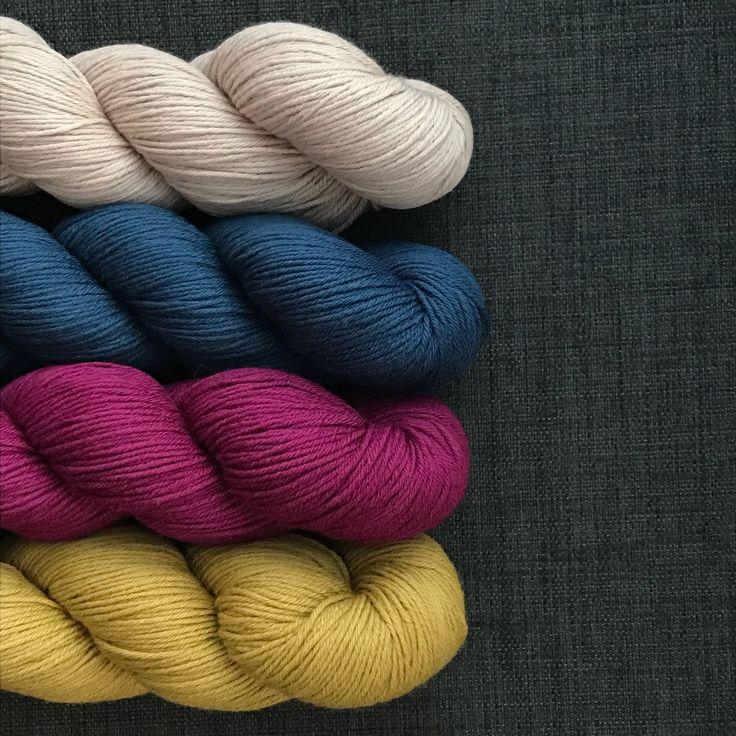Knitting Kit - Corners, Edges, Stripes Multicoloured - Knitting Kits - Martina Behm