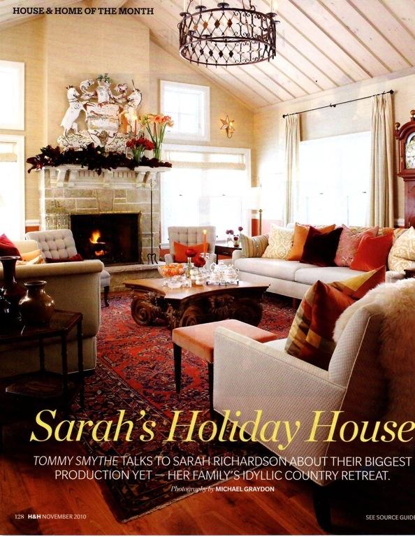 sarah richardson fireplace design | Sarah Richardson: Christmas Edition
