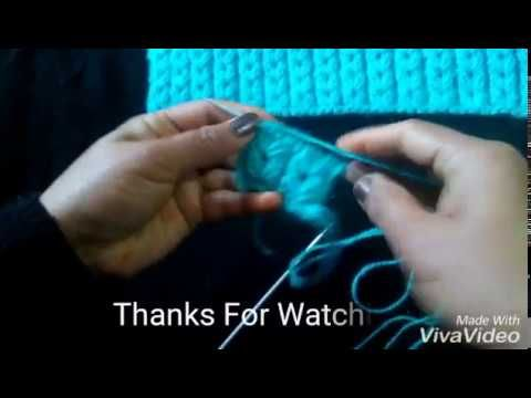 How To Knit A Beautiful Design - YouTube