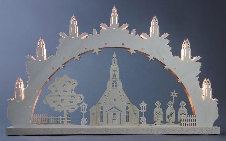 Schwibbogen beige, »Seiffener Kirche«, FSC®-zertifiziert, WEIGLA® Jetzt bestellen unter: https://moebel.ladendirekt.de/weihnachten/weihnachtsdeko/?uid=ab621f78-acde-5759-a67c-972d3e1ec0c4&utm_source=pinterest&utm_medium=pin&utm_campaign=boards #weihnachten #schwibbogen #weihnachtsdeko