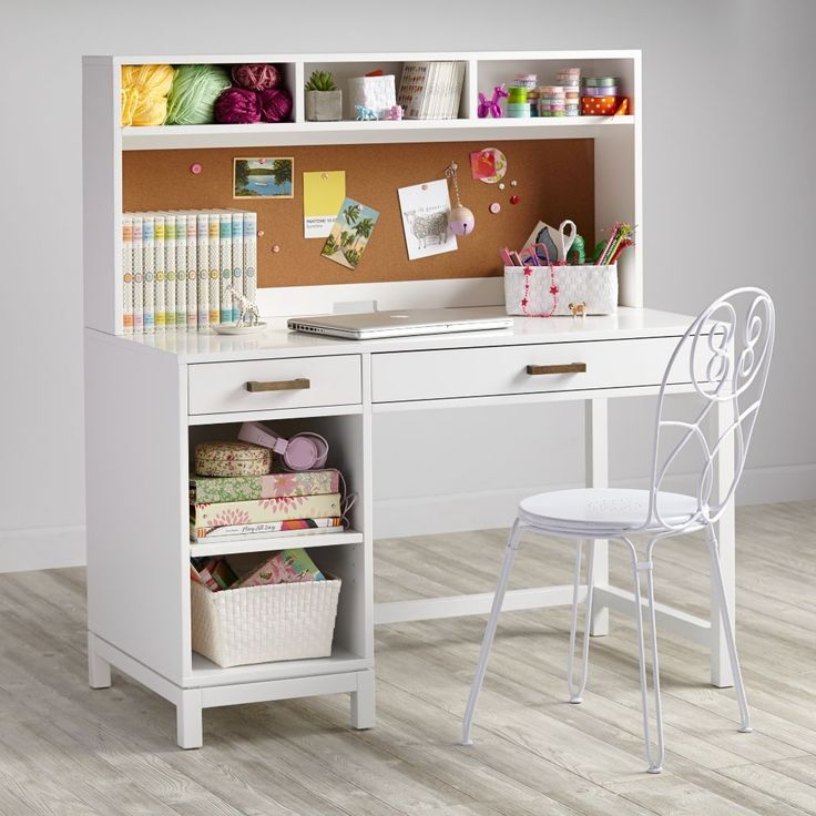 White Desk For Girls Room Brilliant Best 20 Kid Desk Ideas On Pinterestno Signup Required  Small Decorating Inspiration