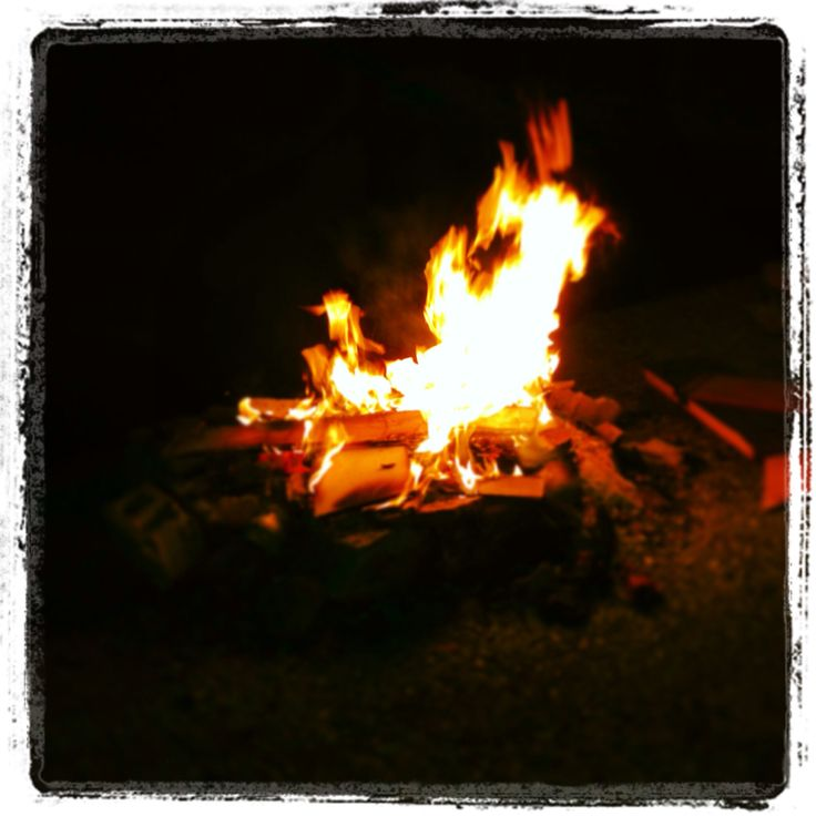 Nice little fire!
