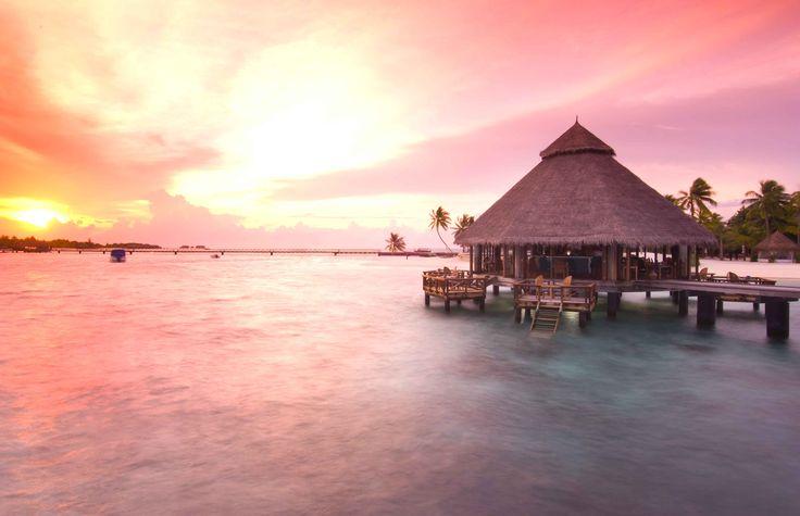 The Maldives: Romantic Getaways, Pink Summer, Islands Resorts, Boathouse, Dreams Vacations Spots, Get Married, Conrad Maldives, Maldives Rangali, Honeymoons Destinations