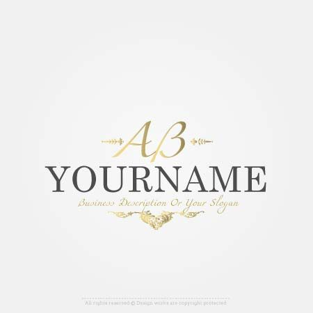 Create a Logo online free – luxury Initials logo templates