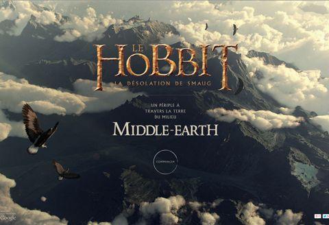 Le Hobbit : la désolation de Smaug – Chrome Experiment