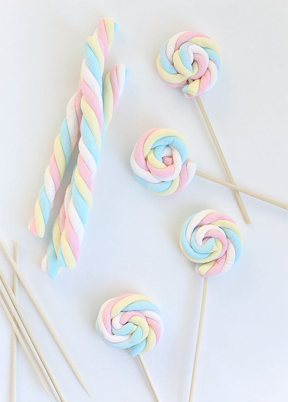 Marshmallows have a long history of getting wrapped up with Easter, as this super easy Marshmallow Pops tutorial from Say Yes perfectly illustrates.