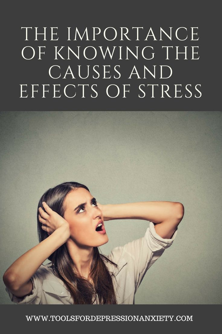 """Stress is a response to stimuli from your environment that you perceive as causing change to the status quo. Just a fancy way of saying that stress causes changes in your body that are physical and psychological. Effects of stress are varied and can vary even within the individual from situation to situation. That's why it is so important to learn as much as you can about the causes and effects of stress. Visit us for details."""