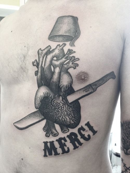 Heart Tattoos for Men | Tattoos Images