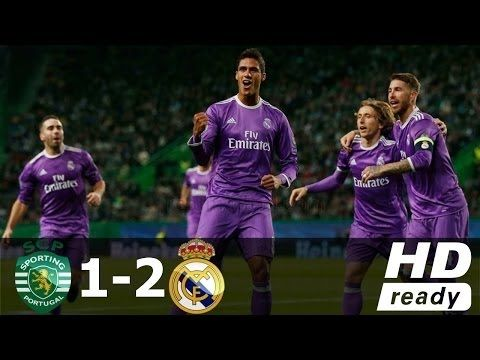 Real Madrid vs Sporting CP 2 1 ●Highlights & All Goals● Champions league...