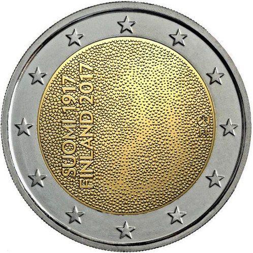Centenario Independencia de Finlandia – 2€ cc 2017