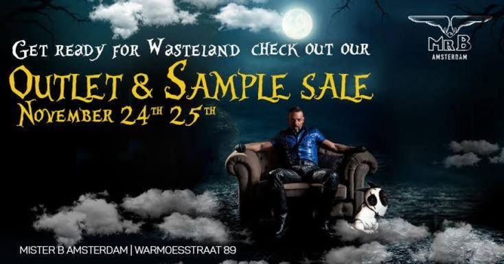 Outlet & Sample Sale Mister B Amsterdam -- Amsterdam -- 24/11-25/11