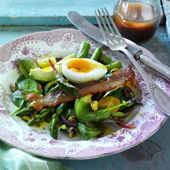 Påskesalat med bacon
