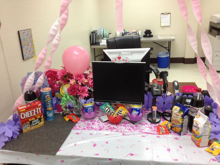38 Best Images About Coworker Birthday Ideas On Pinterest