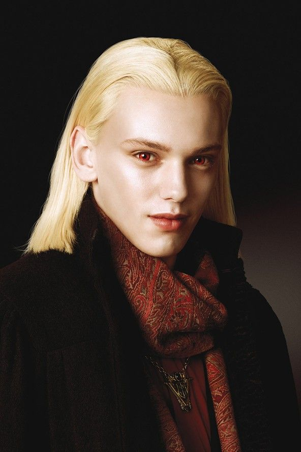 Jamie Campbell Bower as Caius - one of Twilight's vampire 'royals'.   #twilight #volturi #coloredcontacts  http://www.youknowit.com/online-shop/twilight-volturi-vampire-contact-lenses.cfm