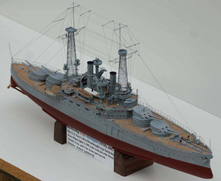 1/350 USS Michigan, BB-27 (ISW) | Model Ship Gallery ...