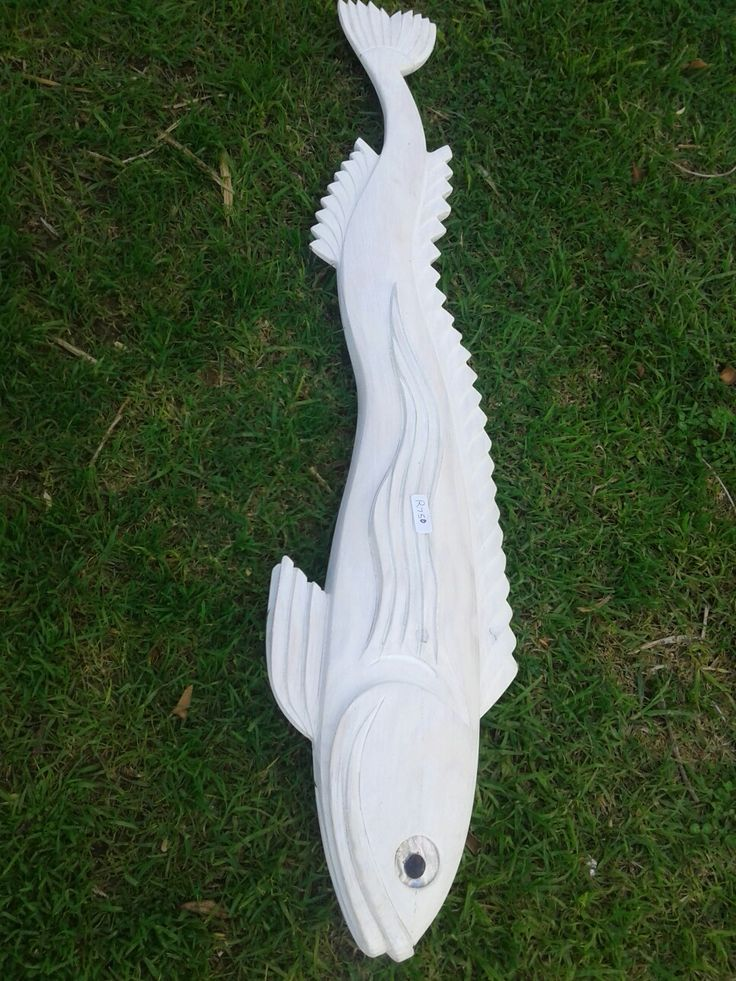 Pretty WOODEN FISH FOR SALE!
