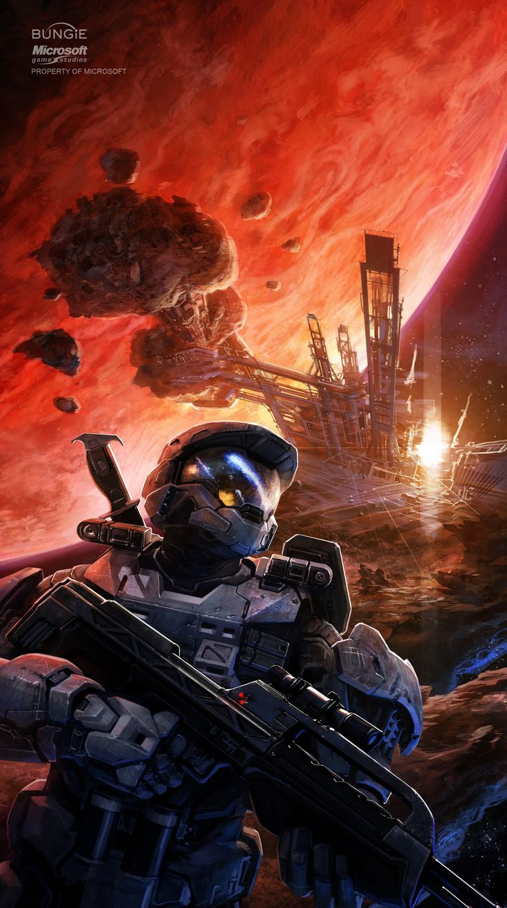 ArtStation - Halo: Cole Protocol cover, Isaac Hannaford
