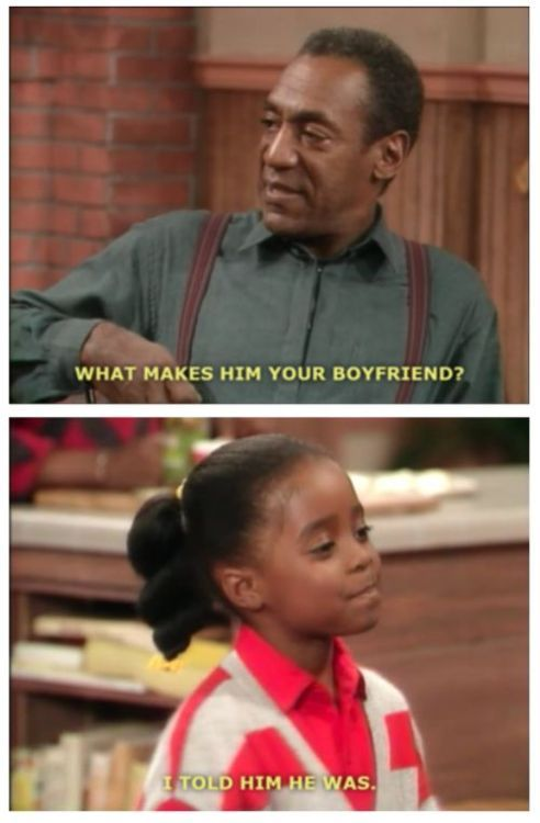 That's usually how it goesLike A Boss, Little Girls, Remember This, Go Girls, Real Life, The Cosby Show, Self Confidence, Smart Girls, Bill Cosby