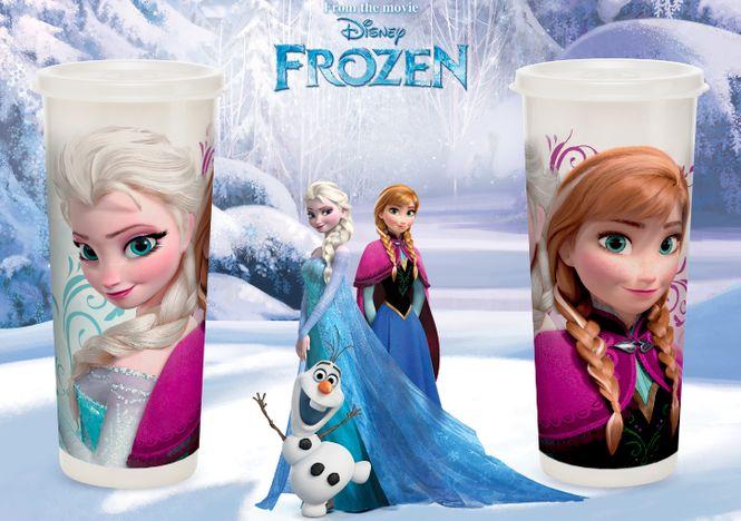 Copo Frozen Elsa e Anna 470ml