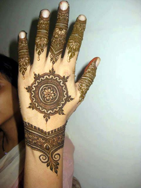 New Arabic Mehndi Designs 2013