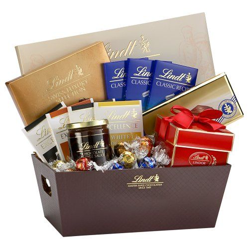 116 best chocolate hampers images on pinterest candy bouquet lindt holiday selections gift basket the ultimate gift of lindt chocolate will delight the fine chocolate connoisseurs on your list negle Choice Image