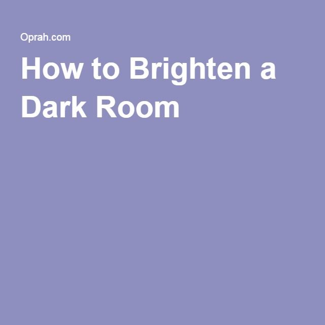 5 Easy Ways To Brighten Up A Dark Apartment Dark Rooms