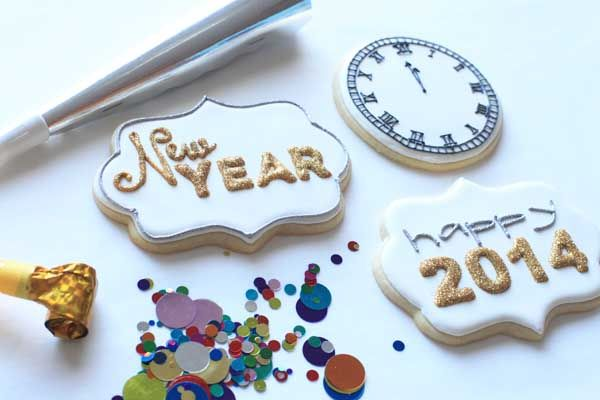 Happy New Year- Cookies!