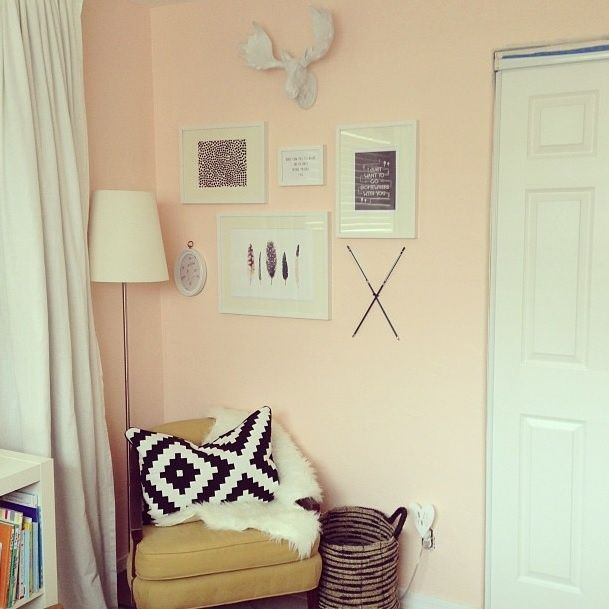 17 best ideas about peach walls on pinterest colour