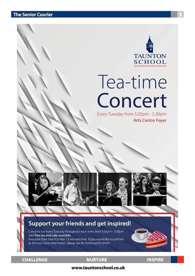 Traditional Tea-Time Concerts at Taunton School! #UKeducation #Britishboardingschools #studentlife #bestschools #studyingabroad #bestschooladvice #boardingschooladvisors