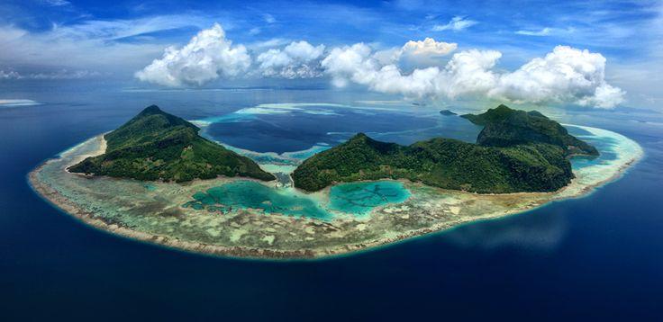 Bohey Dulang Island, Semporna, Sabah #sabah #borneo # ...