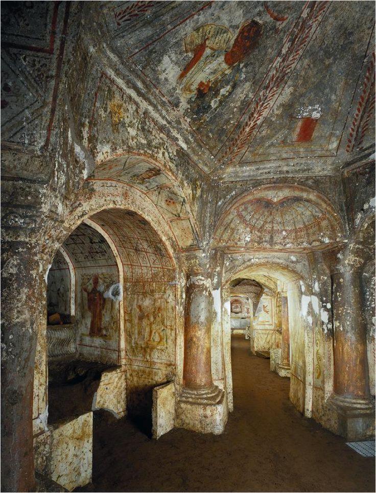 roman catacombs - Google Search