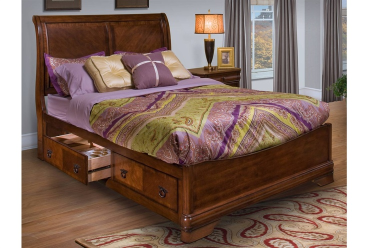 Preston queen storage bed one of my favorites for the home pinterest the o 39 jays storage Bedroom furniture preston
