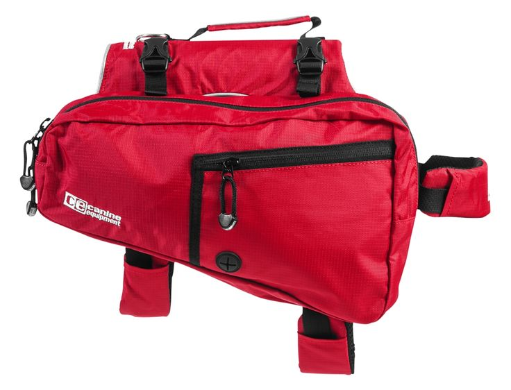 Canine Equipment Backpack!   Comfortable backpack for your dog to hold treats, water bottle or anything that needs some storage while on a hike or even camping.