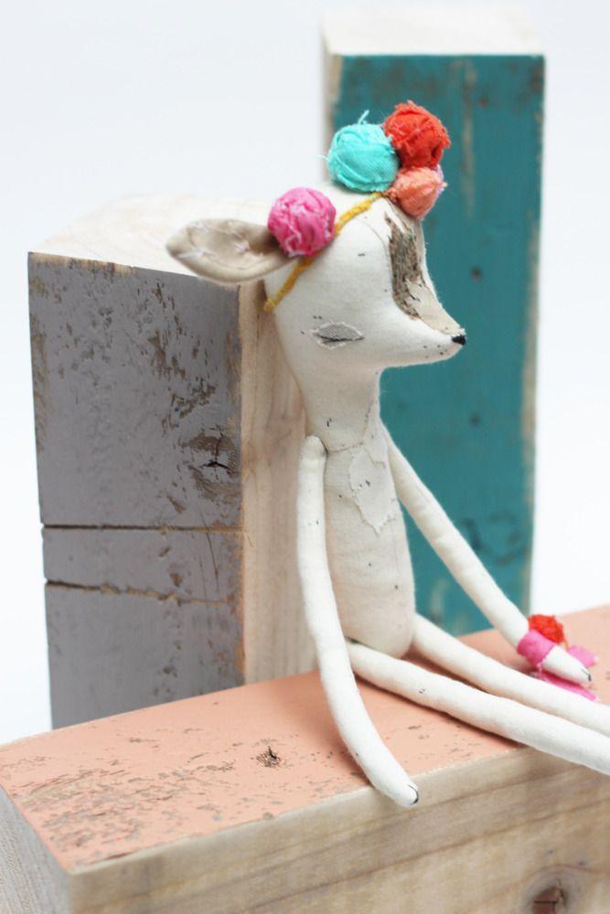 Deer girl by Abigail Brown