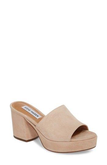 3bfdfdaf421 STEVE MADDEN RELAX PLATFORM MULE.  stevemadden  shoes