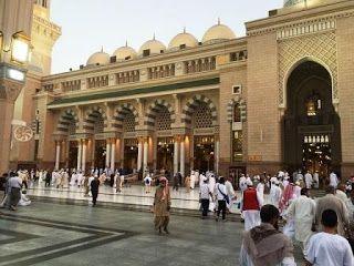 qalbu islam: 5 Tiang bersejarah di mesjid Nabawi (Ustuwanah) Ma...