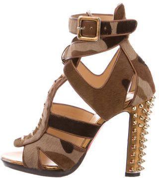 Christian Louboutin Camo Keny Sandals