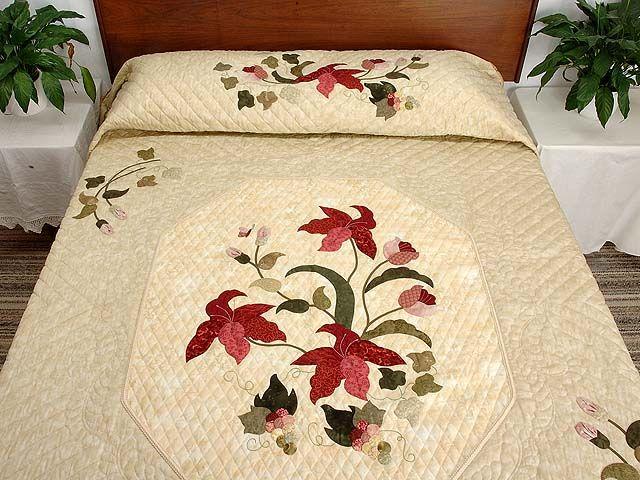 Лепесток Витрина Одеяло - потрясающий сделаны с ухода амишей одеяла из Ланкастер (hs3336)